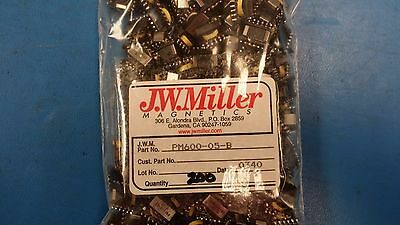 (2 PCS) PM600-05 JW MILLER Fixed RF Inductors 14.7uH 10%