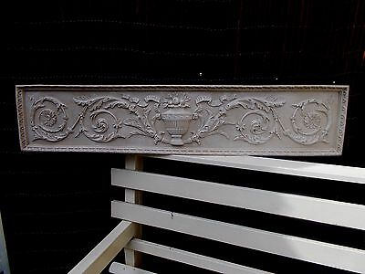 Very Large Ornate Wall Plaque Decorative Moulding Over door Wall Inside Outside