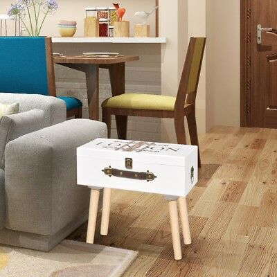 S Suitcase Shape Side Cabinet Telephone Stand Bedroom