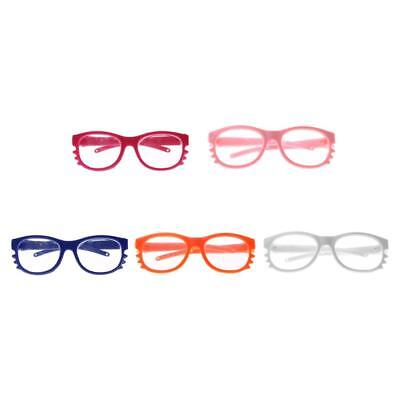 5 Pairs Cute Doll Cat Style Glasses for 18 inch American Girl Doll Clothes