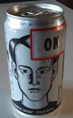 OK 12  oz. Soft Drink Brand Can by the Coca Coca Co. Short Release