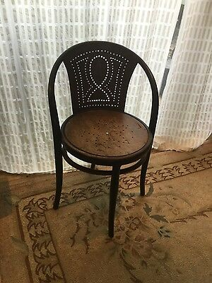 Rare early Thonet bentwood chair