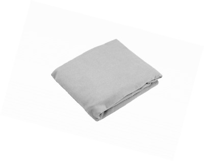 Kushies Baby Fitted Bassinet Sheet, Grey Solid