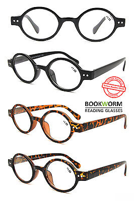 Retro Round Reading Glasses Lennon Geek Vintage Mens Womens Ladies +1 +1.5 +2 +3