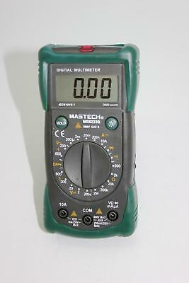 MS8233B multimeter fit FLUKE 15B backlight diode AC DC CATII 600V non-contact UK
