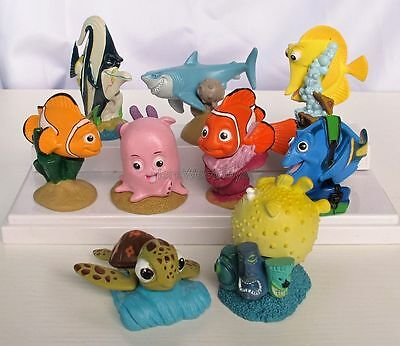 9pcs/Set Pixar Story Finding Nemo Action Figure Kid Toy Birthday Gift