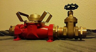 "New 3"" Fire Hydrant Meter Badger T450 + gate valve and fittings"