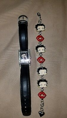 Vintage Betty Boop BRACELET and WATCH