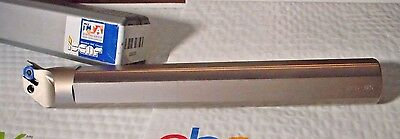 """ISCAR A- PDUNL 24 - 4 Indexable Turning Grooving Boring Bar 1.5"""" x 12"""" Shaft"""