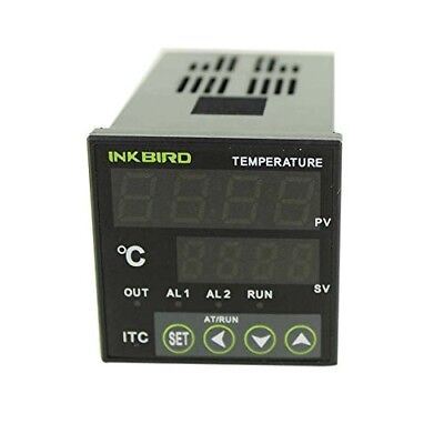 Inkbird PID Temperature Controller with Omron Relay DIN 1/16 ITC-100 (ITC-100VH)