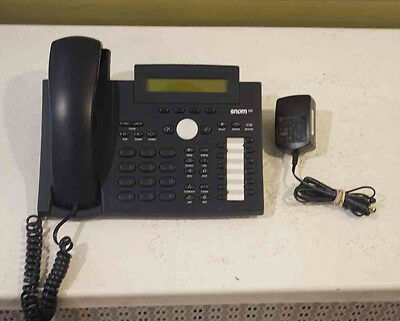 SNOM 320 VOIP Business Phone - good condition with AC adapter