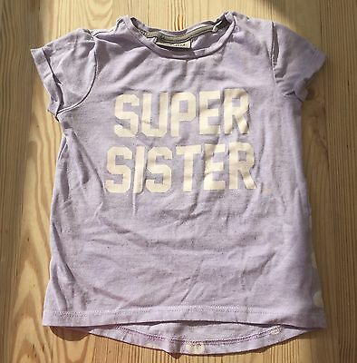 Next Super Sister Tshirt Age 18-24 Months