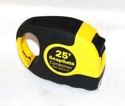 Snapgate 25' Carabiner Tape Measure