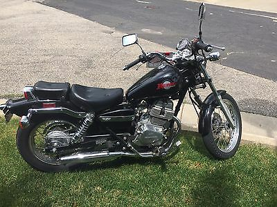 2000 Honda Rebel  2000 Honda Rebel 250 CC Motorcycle