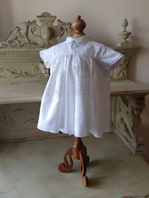 Antique French Handmade Lace Baby's Dress-Christening,Baptism,Holy Communion