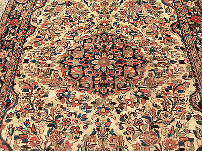 5x7 HAND KNOTTED PERSIAN IRAN HAMADAN RUG RUNNER ANTIQUE WOVEN MADE 5 x 7 4 6 8