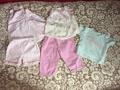 Baby Girls 6-12 Months Summer Mixed Set Bundle