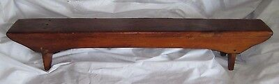 Antique Wooden Prayer Bench Church Kneeling Mid To Late 1800's