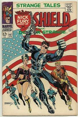 Strange Tales # 165 (Very fine/near mint) Steranko cover