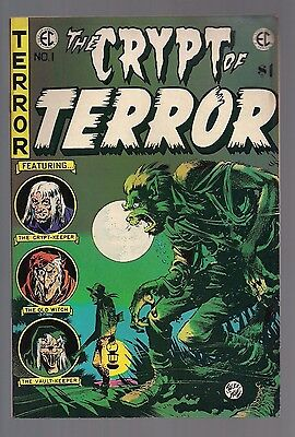 The Crypt of Terror #1 Jack Davis Art REPRINT 1973