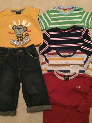 9-12 / 12-18 Months Boys Tops And Jean Bundle