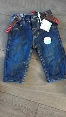 M&CO 3-6 Months Boys Jeans Bnwt
