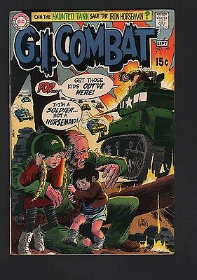 G. I. Combat #143 VG/F 5.0 Cream to Off White Pages
