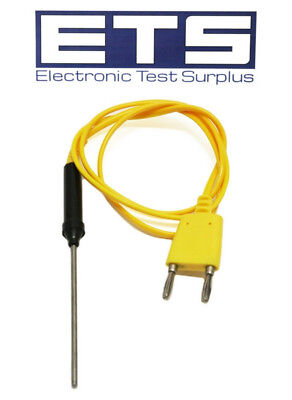 "Huada Type-K Thermocouple Insertion Probe 3"" Type K Immersion Probe"