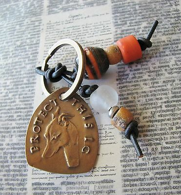 Italian Greyhound Key Ring by Dianne Kresevich