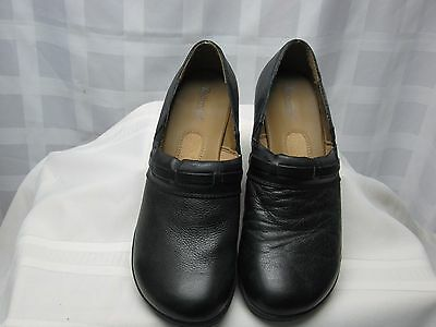 Bjorndal Black Leather Shoes Size 10 Medium Pre Owned