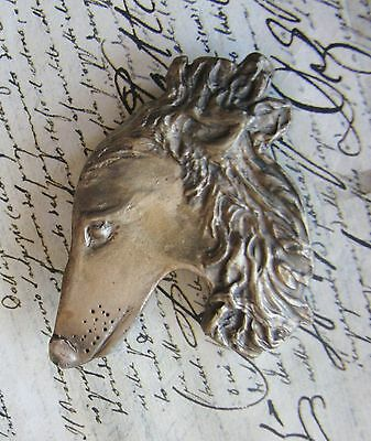 Borzoi Or Russian Wolfhound Pin/brooch By Dianne Kresevich