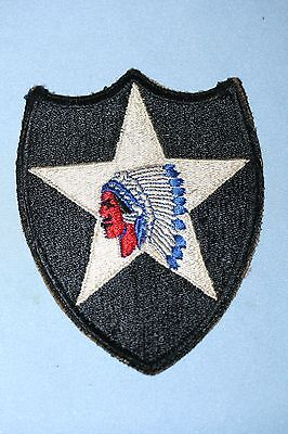 Lot of 4 Original WWII US Army Patches No  Glow