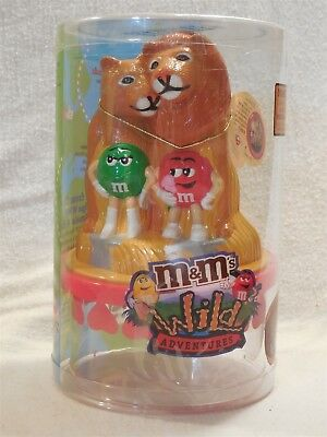 M&M's Wild Adventures Endangered Wildlife Coin Bank Lion