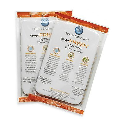 Prince Lionheart Ever-Fresh System Replacement Pillows Ultimate Wipes Warmer