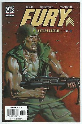 Fury Peacemaker #2 Of 6 Marvel Knights Ennis/Robertson/Palmiotti Good Condition