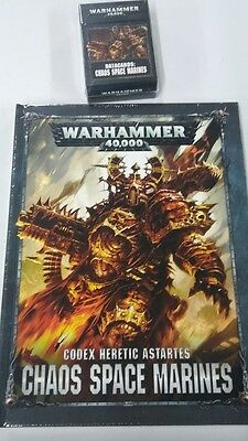 Codex Chaos Space Marines  and datacards 8th edition