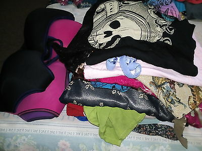 Mystery 3kg satchel ladies size 12, mixed clothing,no reserve,bargain,unwanted