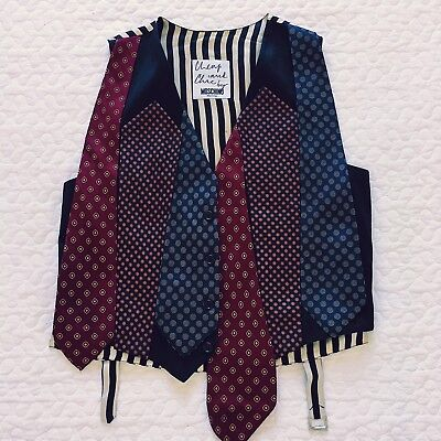 MOSCHINO Cheap And Chic vintage ties vest