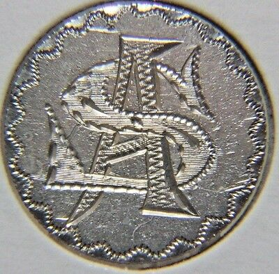 1890 Liberty Seated Dime - LOVE TOKEN - Lot # LT 83