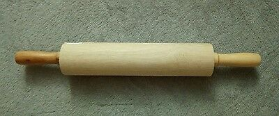 "12"" wooden rolling pin. Brand New!"