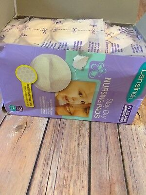 Lansinoh Stay Dry Nursing Pads Quilted 77 Out Of 100
