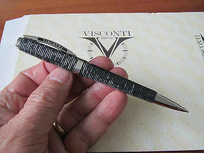 Visconti Wall Street grey celluloid mechanical pencil 0.7mm