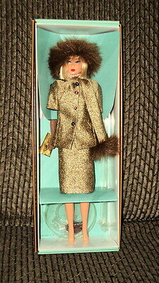 2001 Barbie Reproduction Gold 'n Glamour Nrfb!