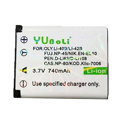 Olympus Li-42b Battery for LI-40C FE-20,FE-220,FE-330 340 Camera AU ship