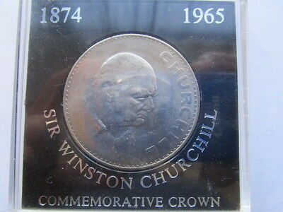 Vintage 1965 Sir Winston Churchill - Commemorative Crown - Great Britain (UK)
