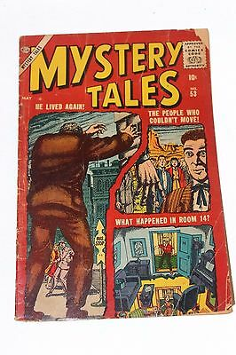 Mystery Tales No. 53 Atlas Comic Book 1957