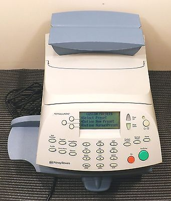 Pitney Bowes P700 Postage by Phone digital Desktop System Powers ON