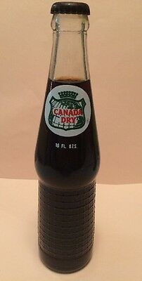 Rooti Canada Dry Root Beer, 10 oz glass bottle RARE vintage soda pop! Unopened!