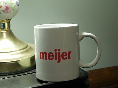 Meijer Grocery - Double Sided - Ceramic [COFFEE MUG_CUP] Ltd Promo - FREE SHIP.