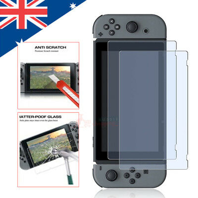 2017 Tempered Glass Screen Protectors compatible with Nintendo Switch Console
